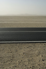desert road ,Qatar,Doha