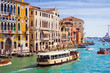 Leinwanddruck Bild - Grand Canal in Venice