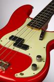 Fiesta Red 1961 Precision Bass poster