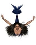 Dark Haired Mermaid - 2 poster