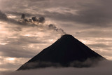 Arenal volcano poster
