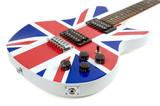 British Flag Guitar