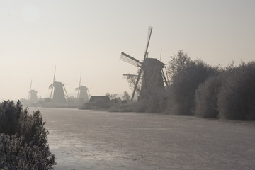 Dutch Kinderdijk