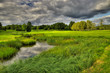 High dynamic range image of the Ronneby golf course in Sweden
