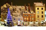 Riga, livu  area and hous poster