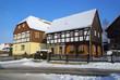 Umgebindehaus - half-timbered house 02