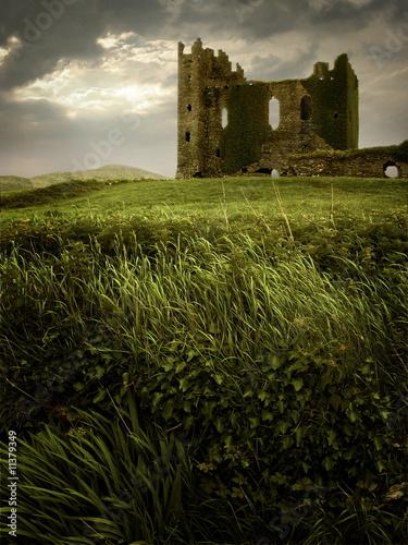 Hilltop Castle Ruin - 11379349