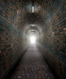 light at the end of a tunnel poster