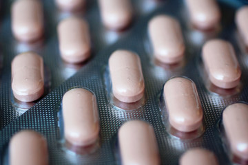 pack of medical tablets