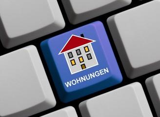 Wohnungen im Internet suchen und finden!