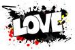 Quadro Love Grunge