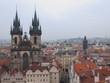 Nuestra Señora de Tyn y panorámica de Praga