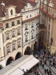 Callejón del casco antiguo, Praga