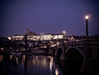 Puente de Praga de noche