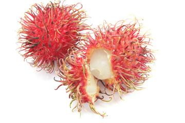 rambutan fruit from tropical