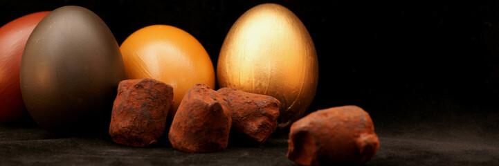 truffes et chocolats