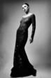 black and white fashion image