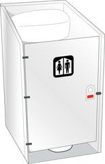Toilet closed