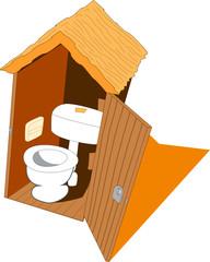 Toilet open