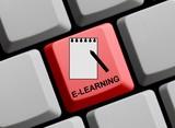 E-Learning - Online lernen poster