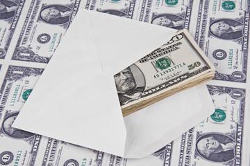 envelope and money