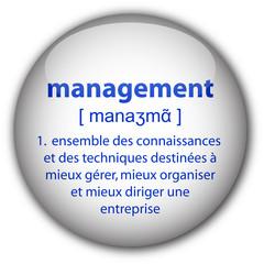 """Bouton """"management"""" avec définition"""