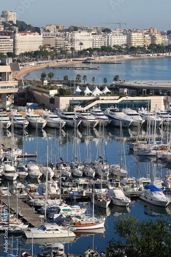 Cannes, port, Palais, Croisette