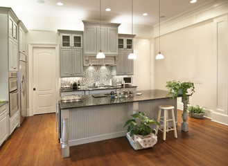 beautiful custom kitchen
