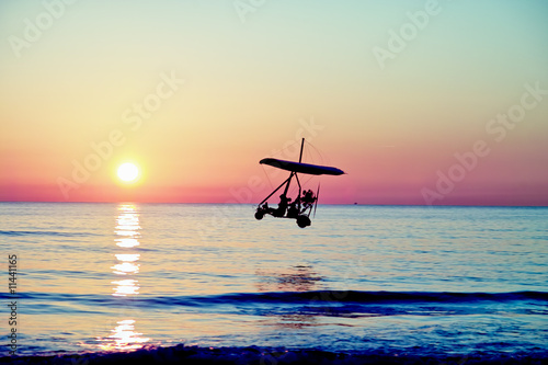 Sunset flight!!