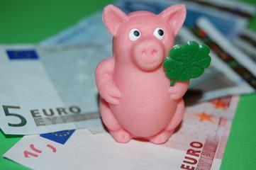 das Glücksschwein