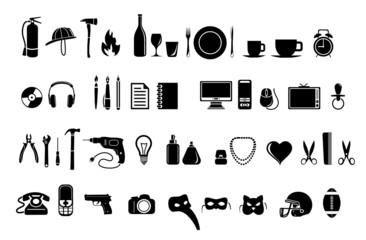 grupo de objetos