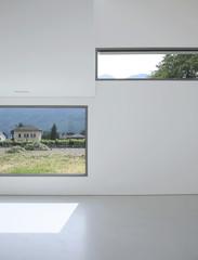 muro con due finestre