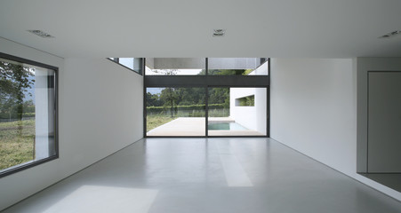 architettura moderna, interno