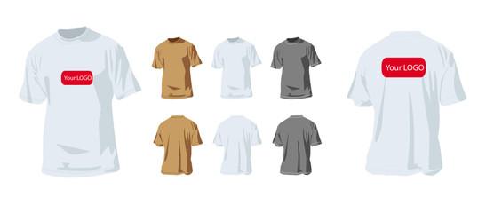 Votre logo sur un tee-shirt 2