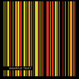 Colored stripe background. Vector.