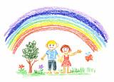 Fototapety summer rainbow