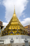 Golden Chedi with demons poster