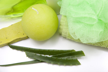 aloe and body treatment