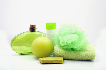 natural soap and body treatment