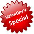 """""""Valentine's Special"""" stamp"""