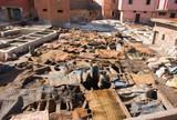 Solitude du teinturier marocain poster