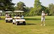 Quadro Family Playing Golf