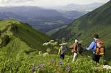 Bergwandern im Kleinwalsertal - Fine Art prints