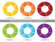 Presentation Graphics - Six Arrow Process Circular Flow