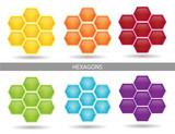 Hexagon Diagrams poster