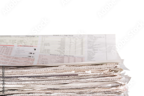Newspapers stockpile