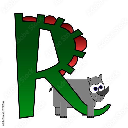 r alphabet animation  Illustration: Alphabet - Letter R