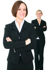 Two Female Successful Businessteam