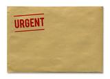 Enveloppe + Urgent poster