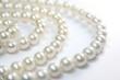 Leinwandbild Motiv pearl necklace